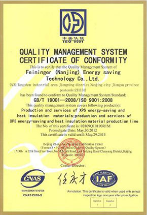 ISO 9001 Certificate and ISO 14001 Certificates-1